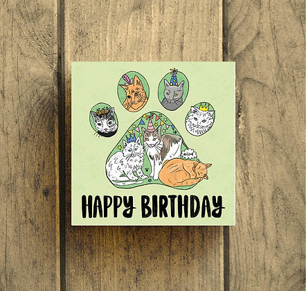 Happy Birthday Cats