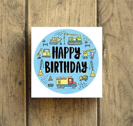 Happy Birthday construction
