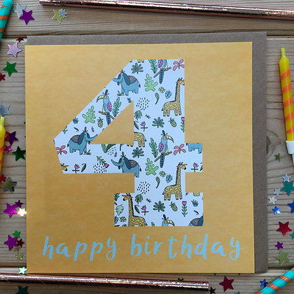 4 Happy Birthday
