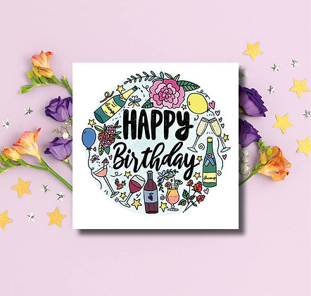 Happy Birthday Champagne