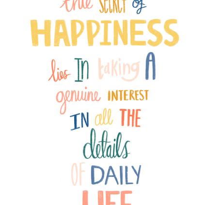 William Morris happiness quote