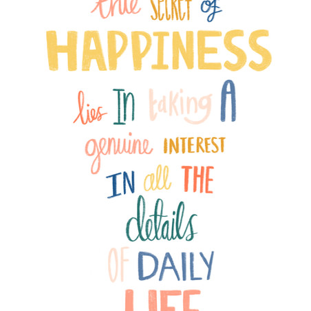 William Morris happiness quote
