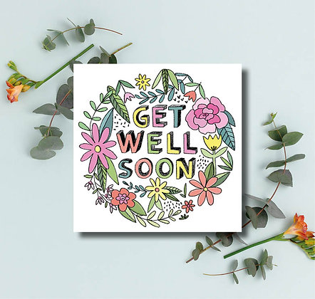 Get well soon flowers