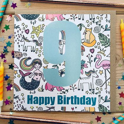 9 Happy Birthday