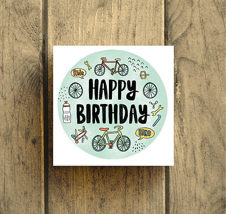 Happy Birthday cycling