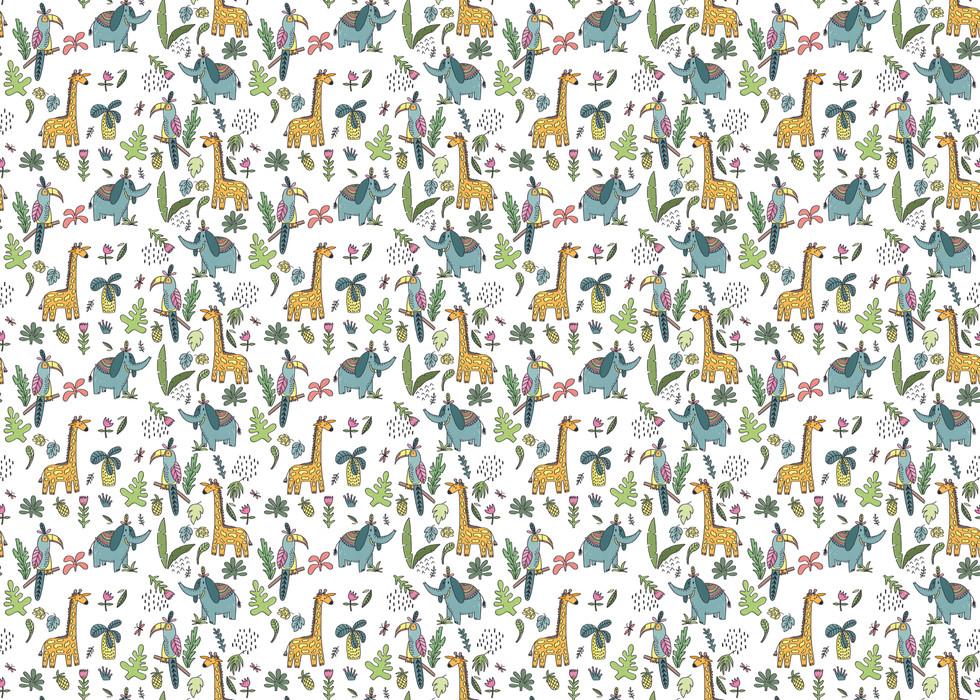 Animal repeat pattern