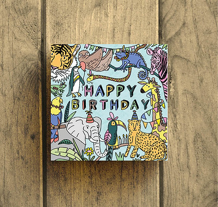 Happy Birthday Jungle