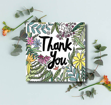Thank you leaves