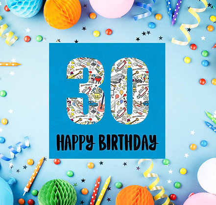 30 Happy Birthday
