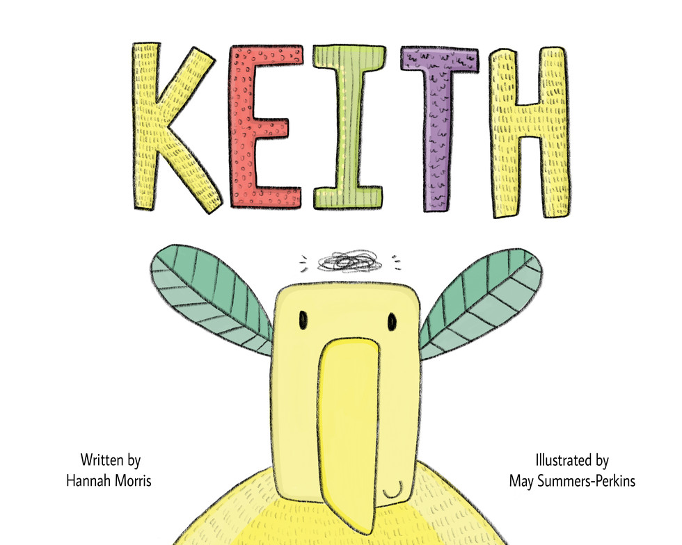 """Front cover """"Keith"""""""