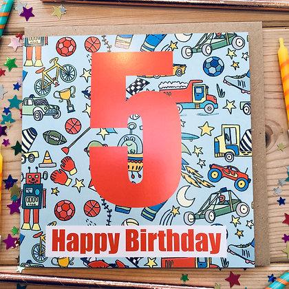 5 Happy Birthday