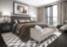 Bedroom CGI Southampton Royal Crescent Apartments
