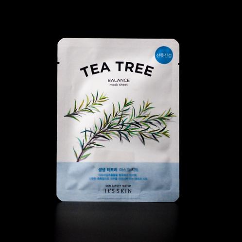 The Fresh Mask Sheet 1pc - Tea Tree [It'S SKIN]