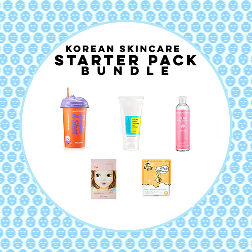 Korean Skincare Starter Pack (5pcs)