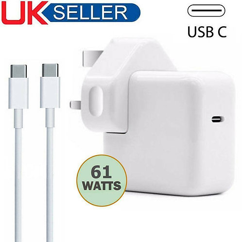 MacBook USB C Type Power Adapter Charger  A1718 A1706 A1708