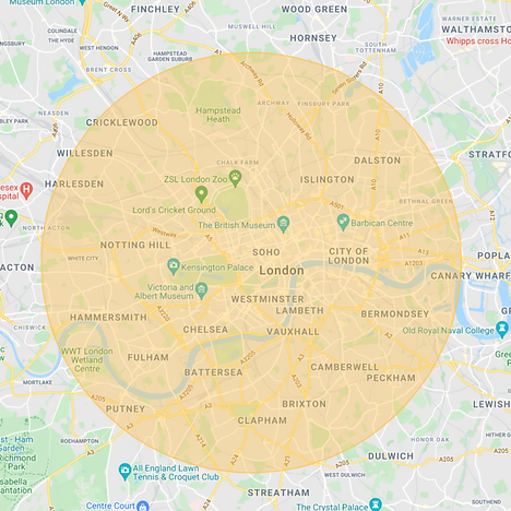 Yolk Delivery Map