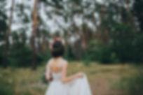 Bride in the Woods
