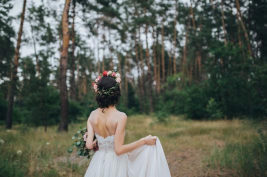 Bride w lesie