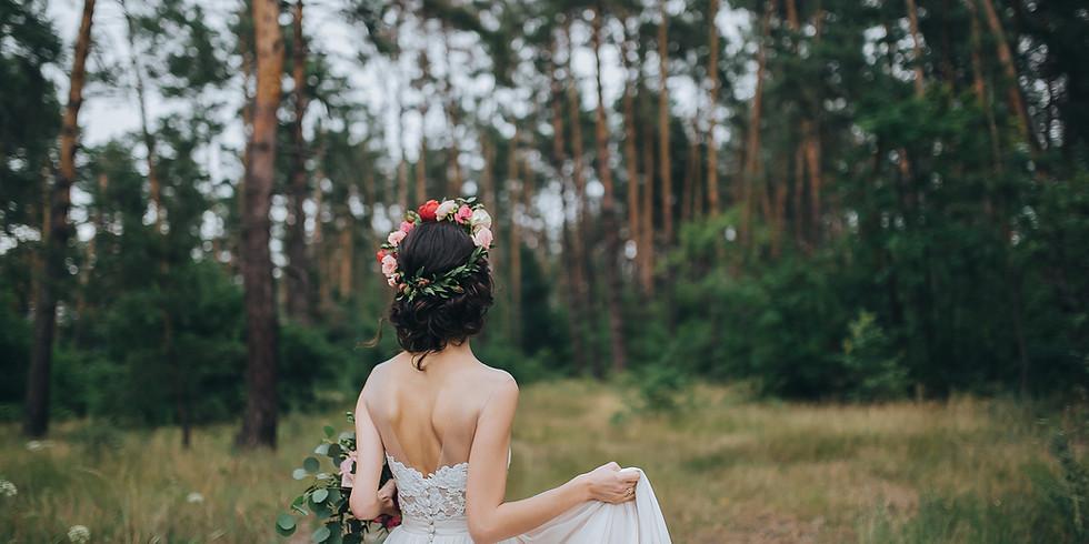 Floral Crown Wedding Workshop Summer 2020