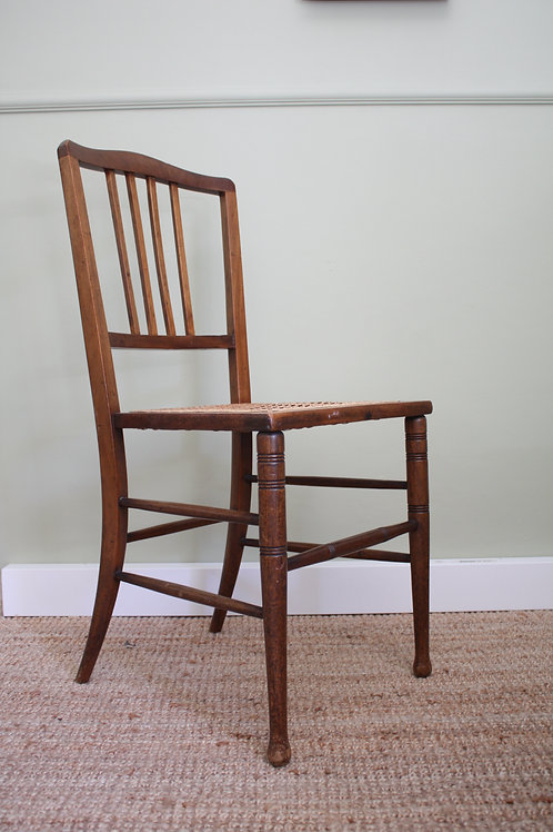 Pair of Cane Chair 20th Century