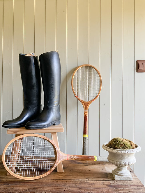 Vintage french equestrian riding boots