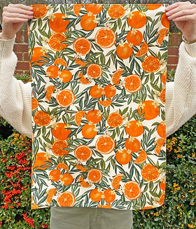 Tea Towel   Orange