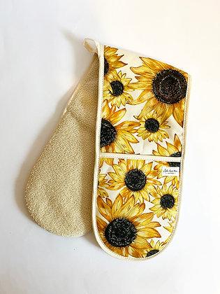 Sunflower Oven Gloves