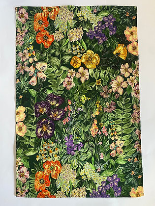 Tea Towel | Wild Flower Green