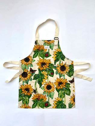 Sunflowers Kids Apron