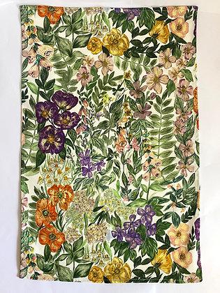 Tea Towel | Wild Flower White