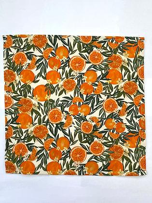 Orange Napkins - Set Of Four