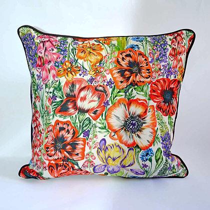 Summer Blooms Indoor Cushion