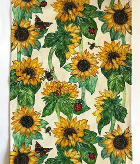 Tea Towel | Sunflowers