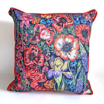 Summer Blooms Waterproof Outdoor Cushion