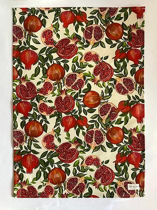 Tea Towel | Pomegranate