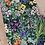 Thumbnail: Tea Towel | Wild Flower Green