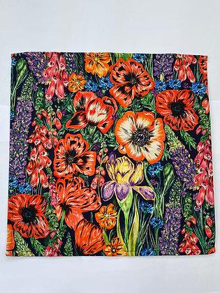 Summer Blooms Napkins - Set Of Four