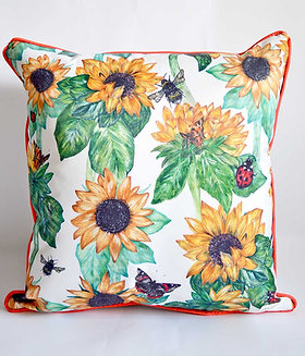 Sunflowers  Waterproof Outdoor Cushion