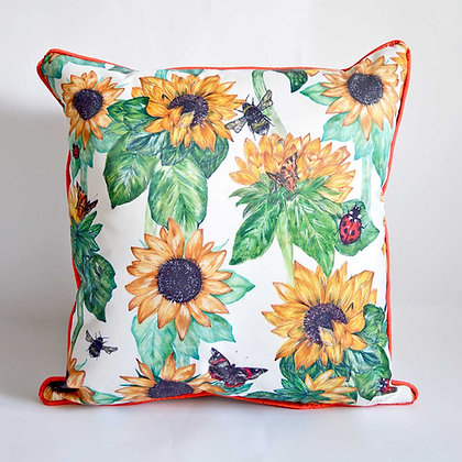 Sunflowers  Waterproof Outdoor Cushion Cover