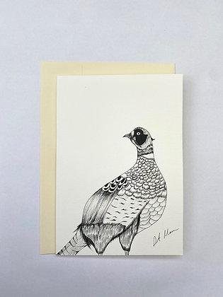 Game Bird Greetings Card