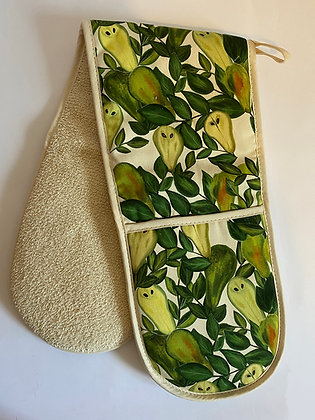 Double Oven Gloves | Pears