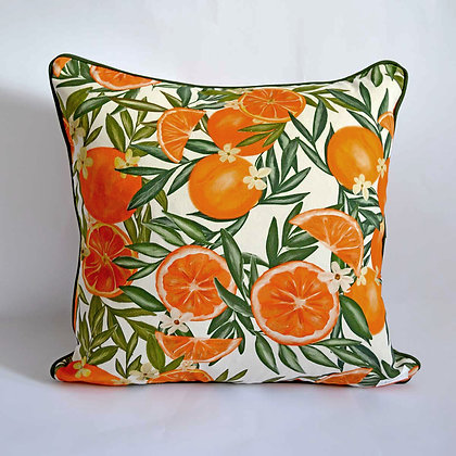 Orange Indoor Cushion