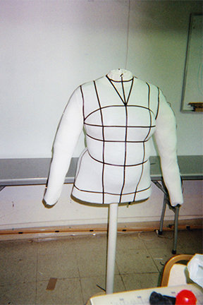 Self-made Dressform