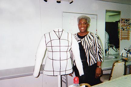 Karen with Self-made Dressform