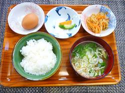 こだわり卵を使用した卵かけご飯