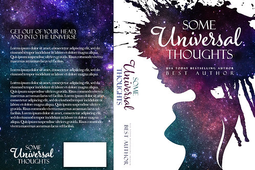 Some Universal Thoughts PreMade Book Cover Design