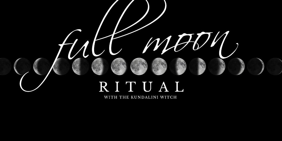 Harvest Full Moon Ritual