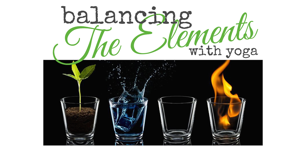 Balancing the Elements with Yoga