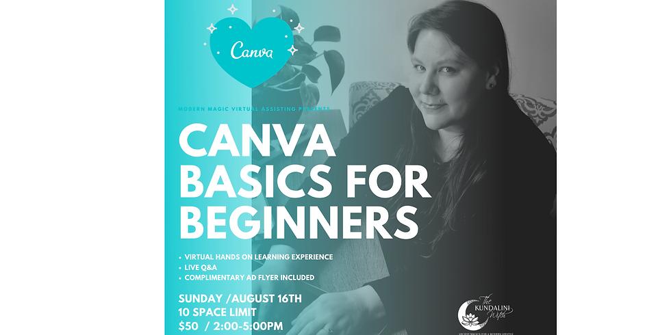 Canva Basics for Beginners