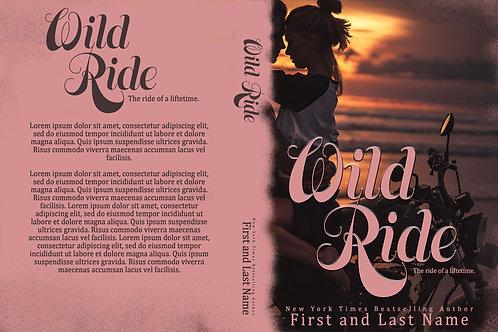 Wild Ride PreMade Book Cover Design